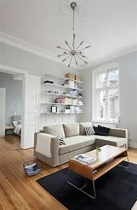 Wohnzimmer Farbe Gestaltung : kleines wohnzimmer einrichten 20 ideen f r mehr ger umigkeit ~ Markanthonyermac.com Haus und Dekorationen