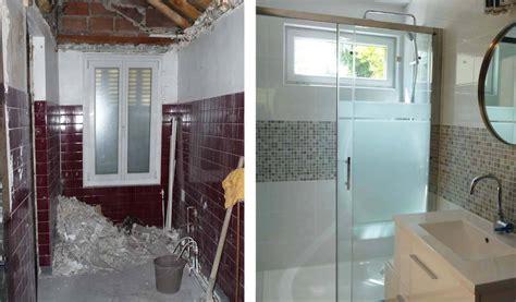 avant apr 232 s r 233 novation d une salle de bain en longueur installer une