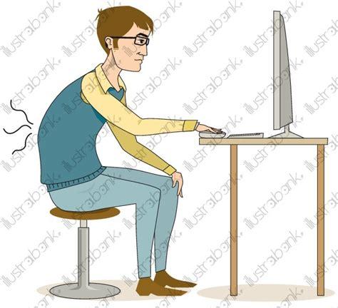 homme mal assis illustration libre de droit sur illustrabank
