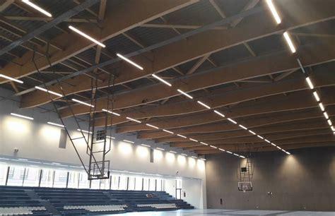 badminton pole voiron bureau d etudes structure bois hage
