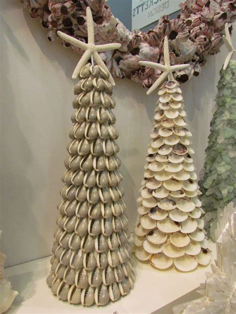 Seashell Christmas Tree Pinterest by Lovely Shell Accent Pieces Coastal Decor Gone Urban