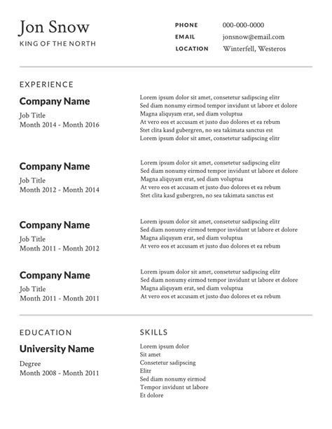 2 Free Resume Templates & Examples  Lucidpress. Geologist Resume. Resume For A College Freshman. Data Entry Job Description For Resume. Resume For Cashier Job. Landscaping Resume. Store Associate Resume. School Principal Resume Sample. Resume Of Product Manager