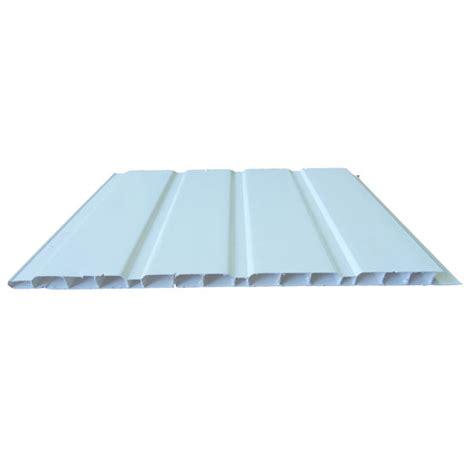 lambris de sous en pvc cellulaire massif pour toitures plast