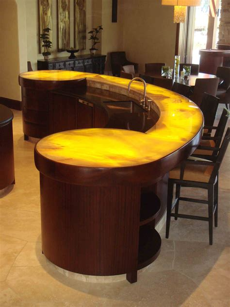 fetching modern bar counter designs for home design with brown wood small bar table also