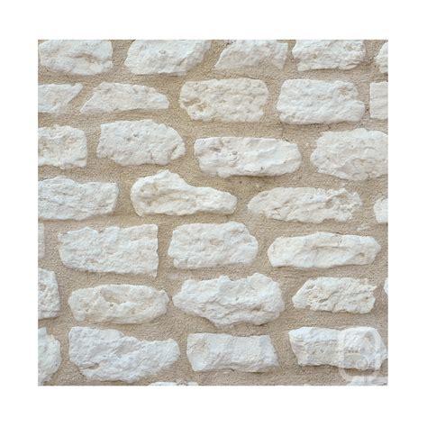petites pierres de parement rustique ton blanc 1m 178 jardinoa fr