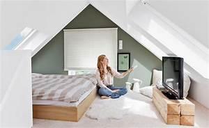 Farben Für Kleine Räume Mit Dachschräge : wohnung mit dachschr ge chic einrichten ~ Markanthonyermac.com Haus und Dekorationen