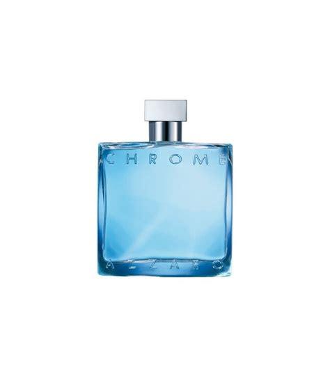 chrome eau de toilette vaporisateur chrome parfums homme azzaro