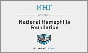 NHF - National Hemophilia Foundation