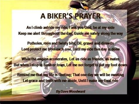 Bikers' Prayer