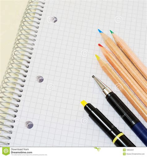 Writing Tools Stock Image Image Of Office, Learn, Reminder 10654341
