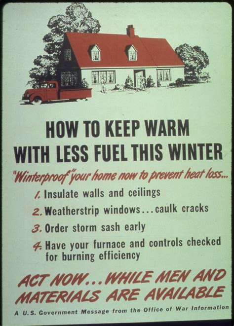 """File""""how To Keep Warm With Less Fuel This Winter"""" Nara"""
