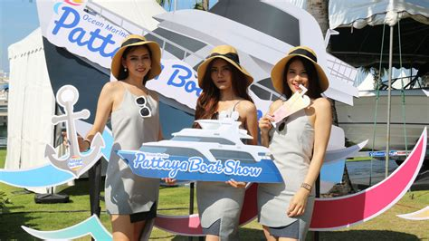 Ocean City Boat Show 2018 by A Busy First Day At 2018 Ocean Marina Pattaya Boat Show
