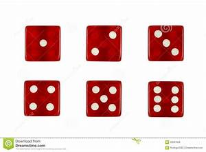 Red Casino Dice Royalty Free Stock Images - Image: 20537959