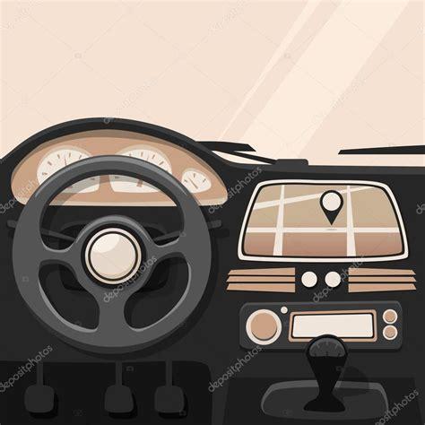 int 233 rieur du v 233 hicule voiture 224 l int 233 rieur illustration de dessin anim 233 de vecteur image