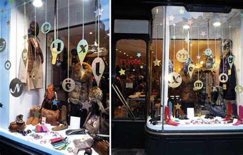 stickers vitrines decoration noel boules vitrine id 233 e