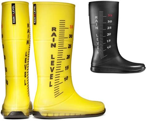 Rubber Boot Water by Rain Rulers Colorful Rubber Boots Measure Water In Style
