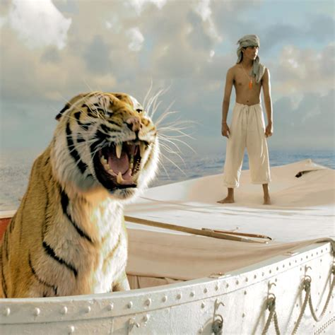 Movie Boy In Boat With Tiger by Ipad Wallpapers Free Download Life Of Pi Ipad Hd