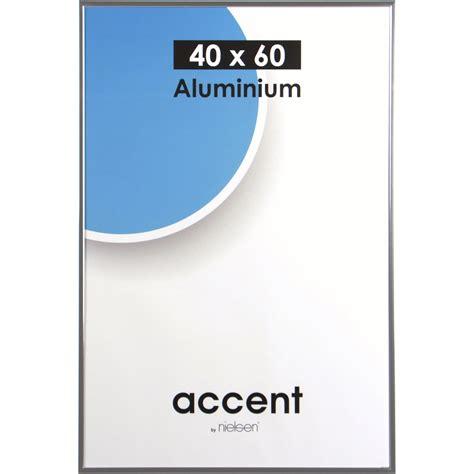 cadre accent 40 x 60 cm argent leroy merlin