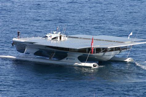 Catamaran Luxury Ferry by T 219 Ranor Planetsolar Catamaran Yacht Charter Superyacht