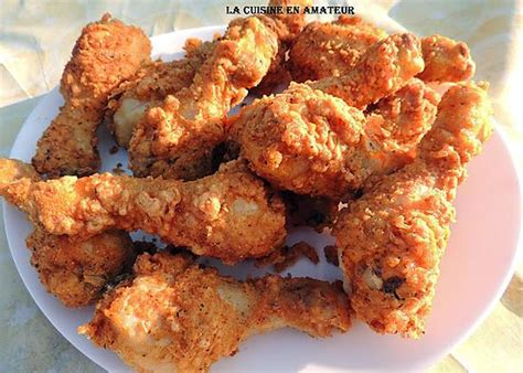 recette de pilons de poulet fa 231 on kfc