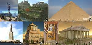 seven wonders of the ancient world it all