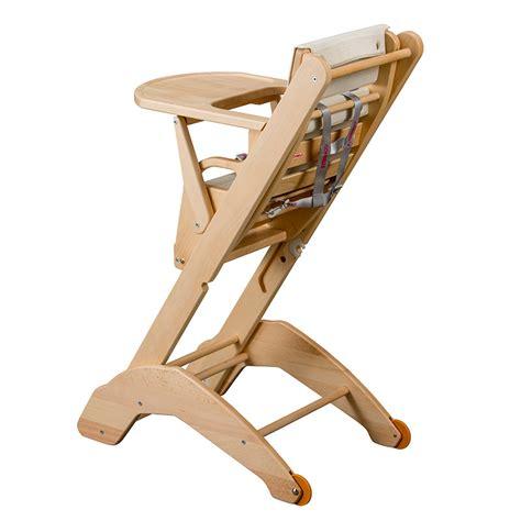 chaise haute twenty one evo bois de combelle chaises hautes r 233 glables aubert