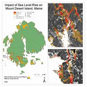 Maps Maine Communities Affected Sea-level Rise