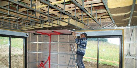 faire un faux plafond en placo