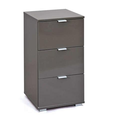 caisson de bureau 3 tiroirs quot nakano quot noir