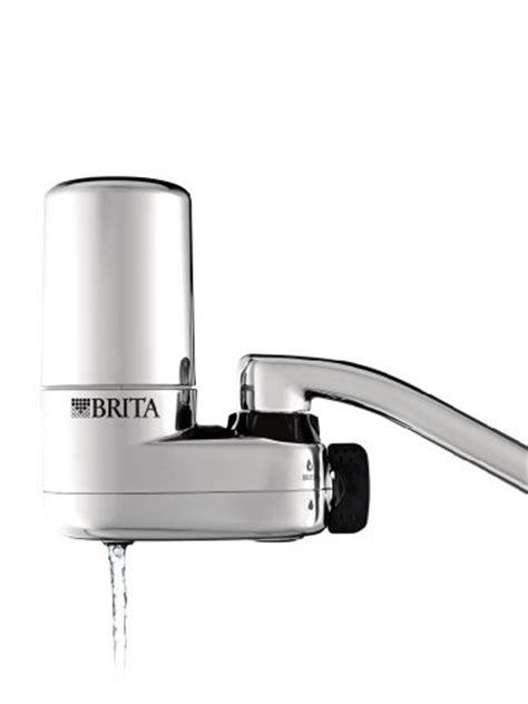 review of brita on tap faucet water filter system chrome