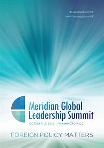 Meridian Global Leadership Summit 2015 | Meridian ...