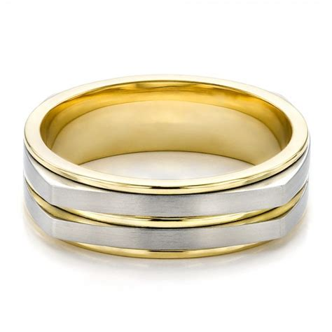 Men's Twotone Wedding Band #100153  Seattle Bellevue. Vintage Chanel Necklace. Myasthenia Gravis Bracelet. Boho Stud Earrings. Japanese Watches. Outdoorsman Watches. Black Hills Gold Rings. Blue Rubber Bracelet. White Gold Necklace