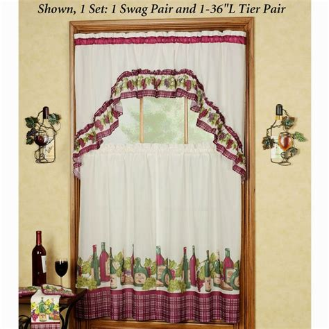 grape wine kitchen curtains 18 best images about kitchen curtain on