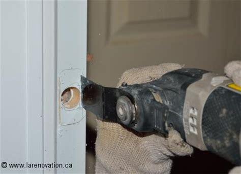 comment installer une serrure de porte d entr 233 e