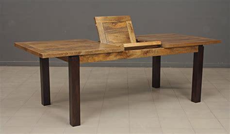 beau table de salle a manger avec rallonge en bois avec amazing table style industriel avec
