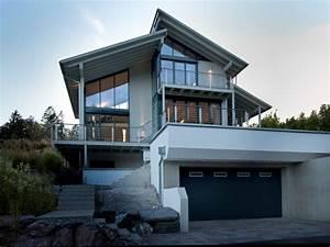 Moderne Häuser Mit Grundriss : modernes fertighaus von baufritz haus eliasch ~ Markanthonyermac.com Haus und Dekorationen