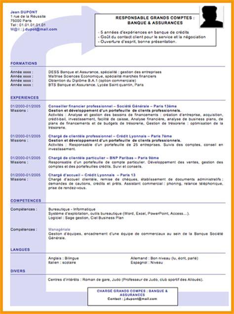 8 exemple de cv moderne lettre administrative