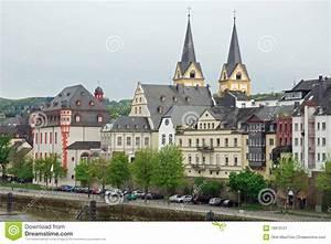 Hamburg Nach Koblenz : stadtansicht von mosel nach koblenz deutschland stockbild bild 18970127 ~ Markanthonyermac.com Haus und Dekorationen