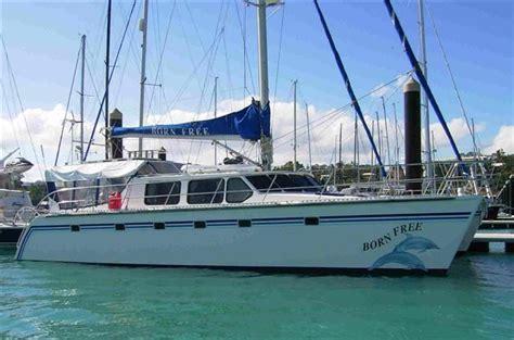 Small Catamaran For Sale Australia by 1997 Brady 48 Sailing Catamaran For Sale Trade Boats
