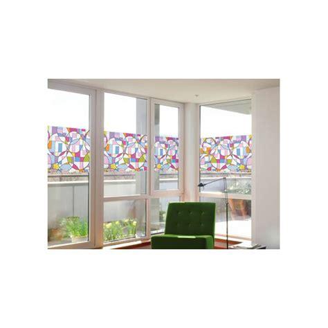 faux vitrail autocollant vitrail vitre vitrail sur vitrage www pour
