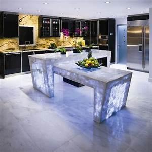 Arbeitsplatten Für Küchen Günstig : 25 arbeitsplatten f r k chen die sie mit ihrem design faszinieren ~ Markanthonyermac.com Haus und Dekorationen