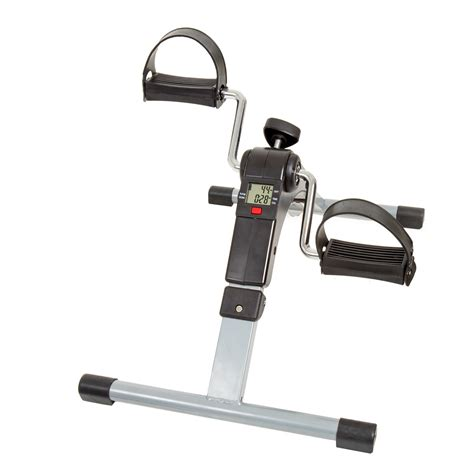 Pedal Exerciser Desk by Wakeman Fitness Folding Pedal Exerciser With Electronic