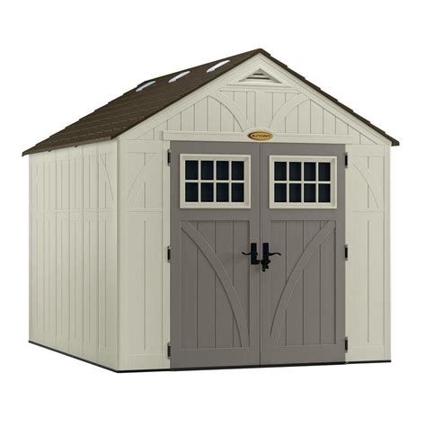 suncast 8 x 10 tremont shed the home depot canada