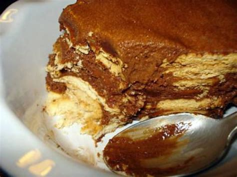 recette de g 226 teau aux petits beurres et mousse au chocolat sans cuisson bolo de bolacha