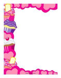 Bake Sale Border Clip Art Clipart