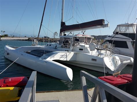 Small Catamaran For Sale Australia by Used Hughes Style Modern Designed And Built Trimaran For