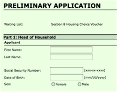 apply for section 8 section 8 applications now taken vhfa org