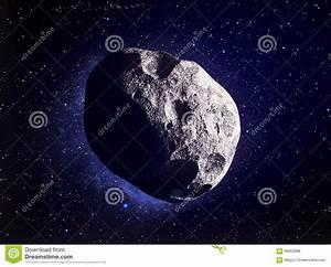 Asteroid Stock Illustration - Image: 60852988