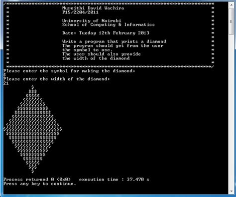 printing program in c free source code tutorials and articles