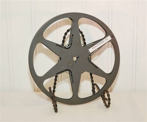 Home Decor 8mm : Vintage Bell & Howell Company Metal Film Reel (c. 1950's